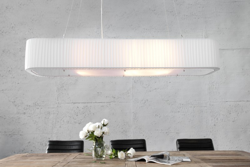 Visiaca lampa PARIS 100 cm - biela