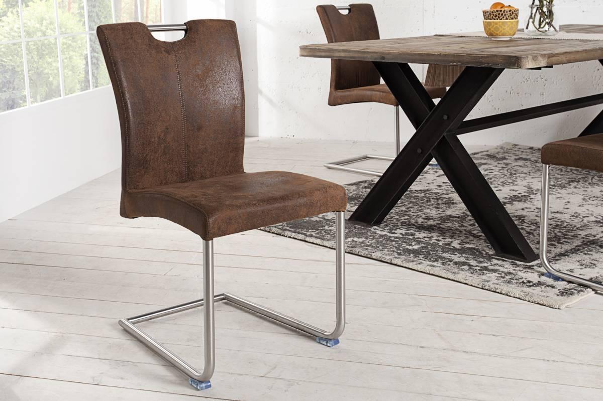 Stolička GERON - hnedá