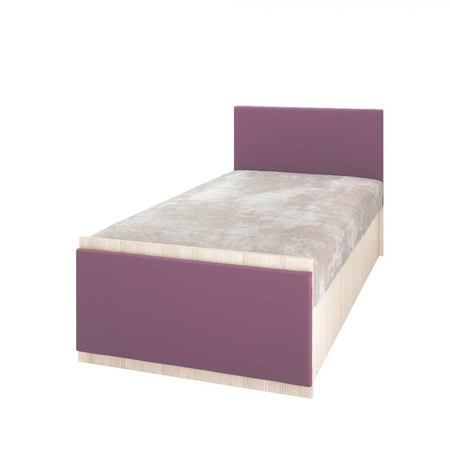 Detská posteľ Bregi Farba: Fialová
