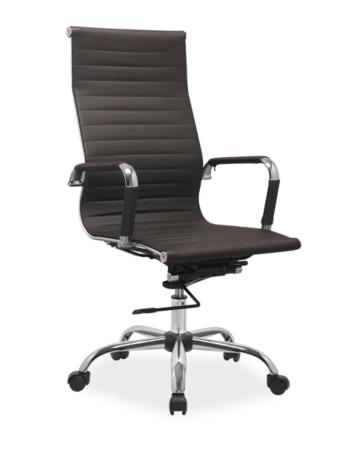 Kancelárske kreslo Q-040 hnedé