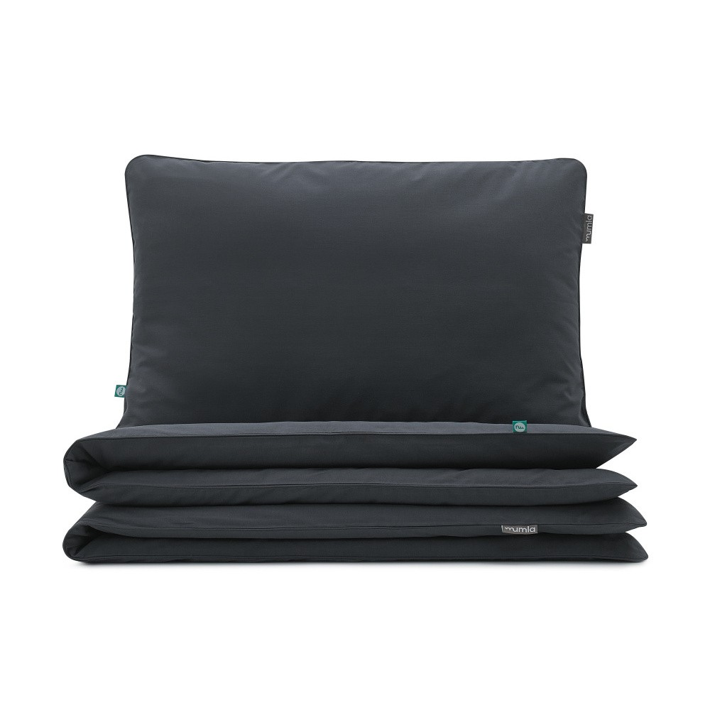 Čierne obliečky Mumla Bedding Set, 200 x 200 cm