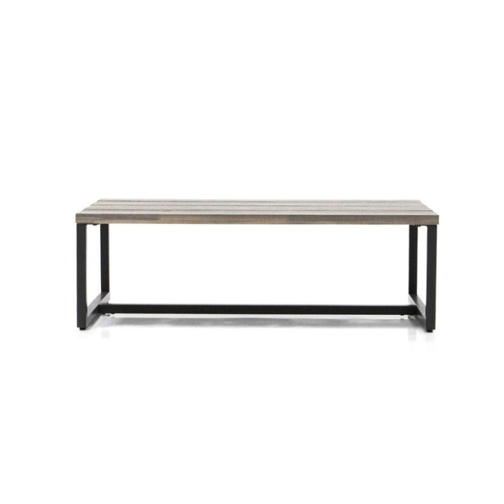 Konferenčný stôl z akáciového dreva Livin Hill Flow, 65 x 110 cm