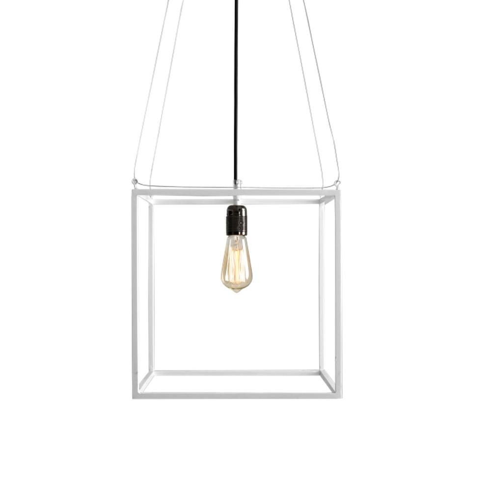 Biele závesné svetlo Custom Form Metric