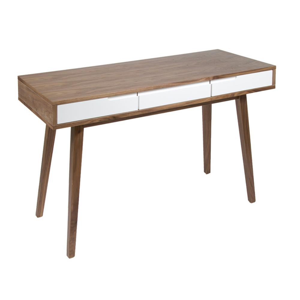 Drevený pracovný stôl Santiago Pons Woody