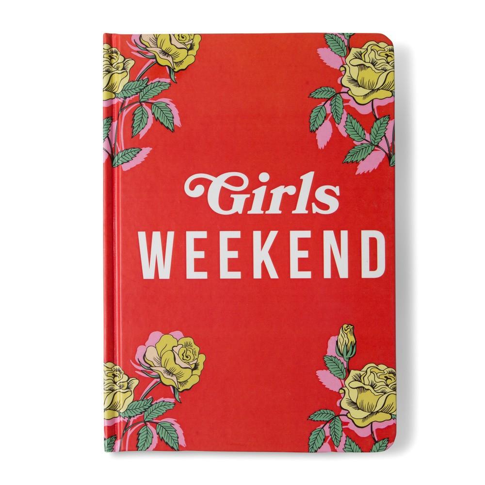 Zápisník Tri-Coastal Design Girls Weekend, 96 stránok