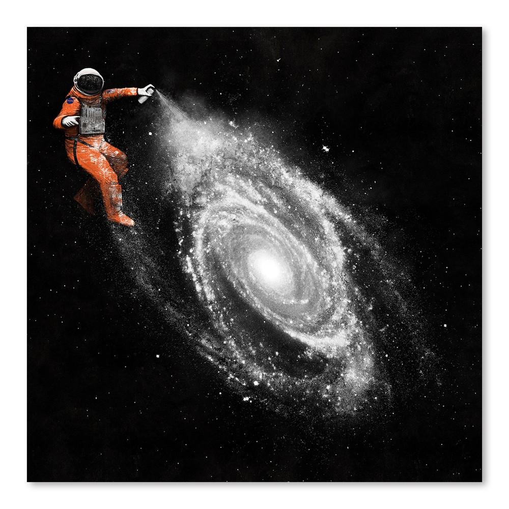 Plagát Space Art od Florenta Bodart, 30x30 cm