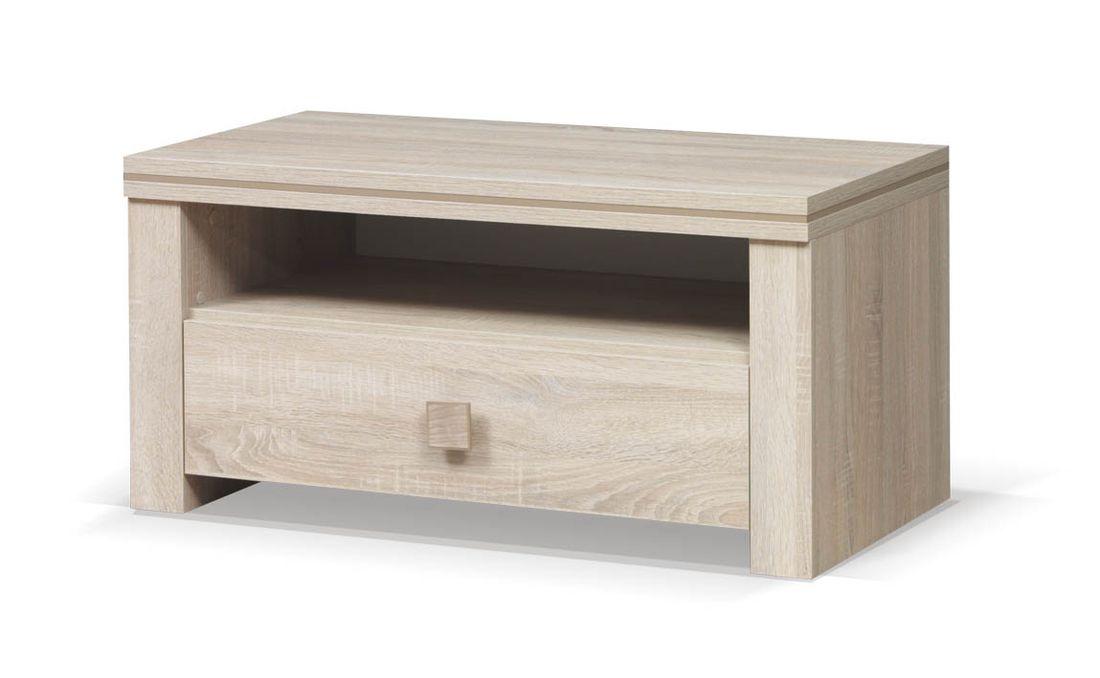 Televízny stolík WINNER 96, 47x96x50 cm, dub sonoma