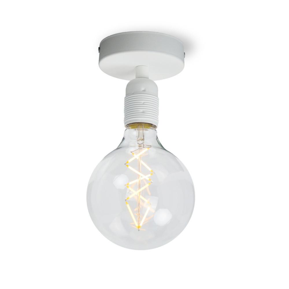 Biele stropné svetlo Sotto Luce BI Elementary 1C
