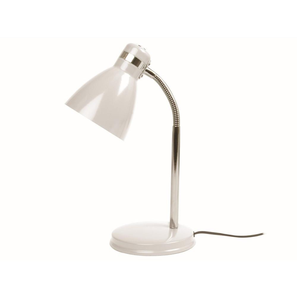 Biela stolová lampa ETH Study