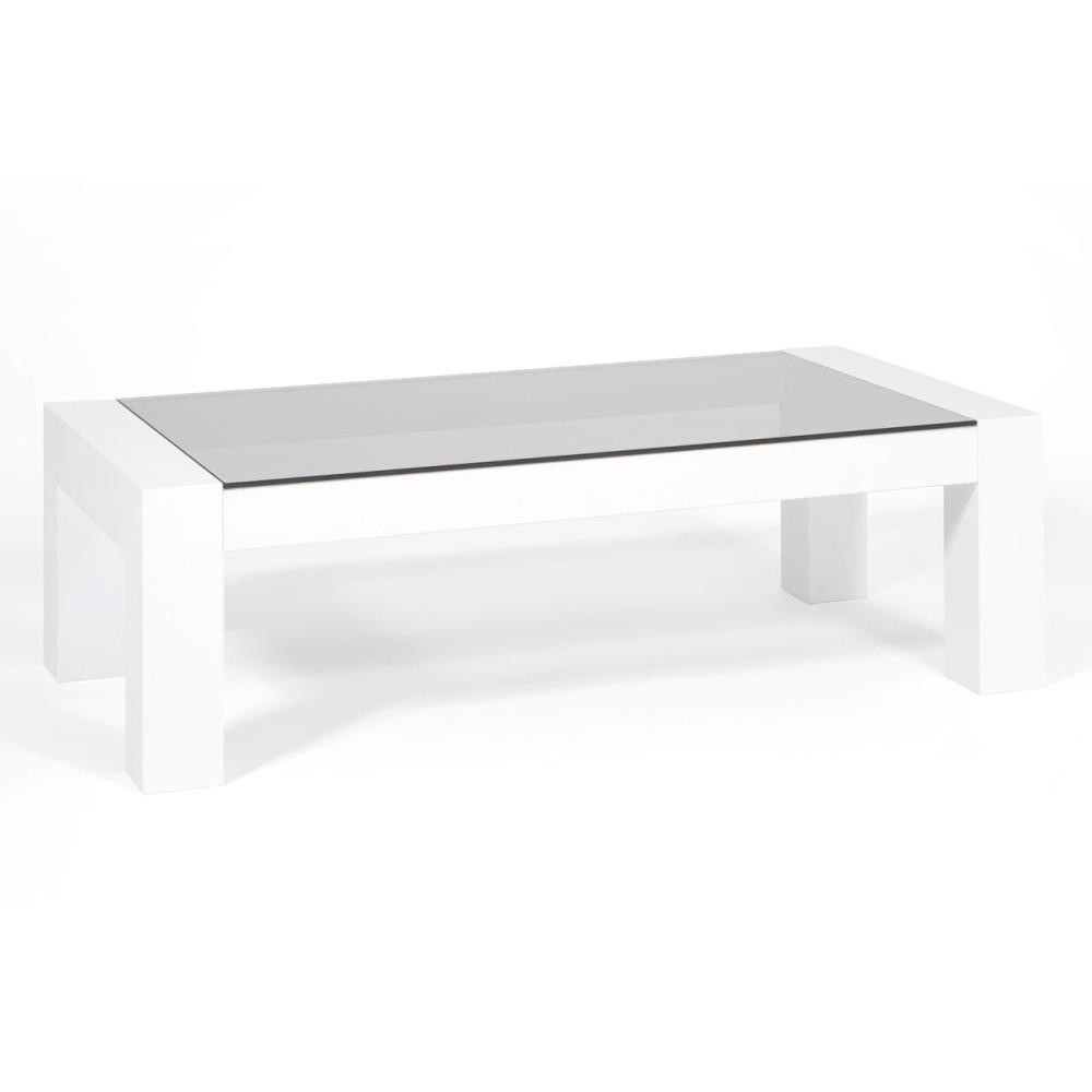 Konferenčný stolík v dekore bielej borovice MobiliFiver Iacopo
