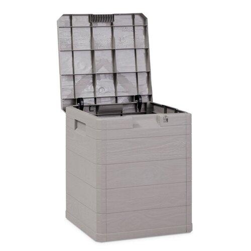 Aldo Úložný box na podušky Woody sivá, 90 l