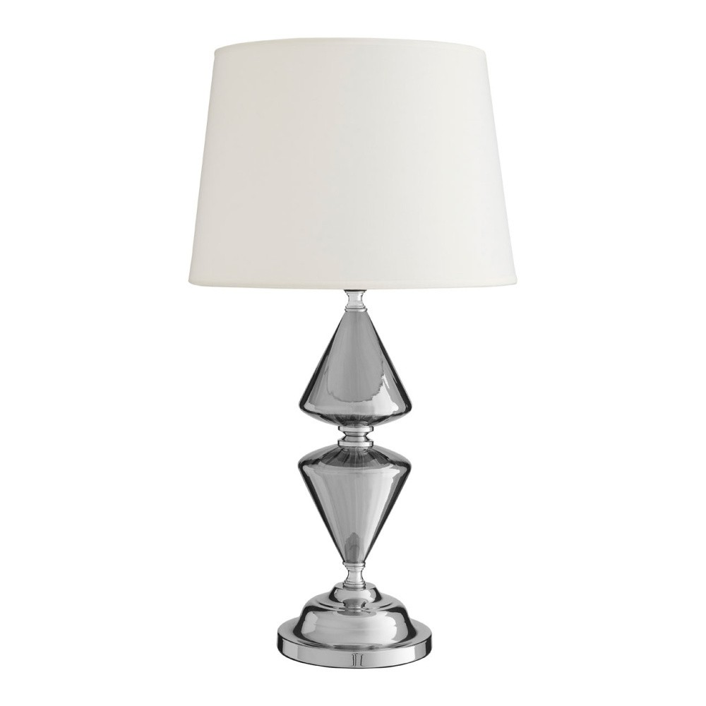 Stolová lampa s bielym tienidlom Premier Housewares Honor