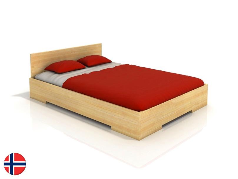 Manželská posteľ 180 cm Naturlig Kirsebaer High (borovica) (s roštom)