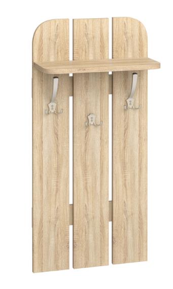 Vešiakový panel W 50-01   Farba: dub sonoma