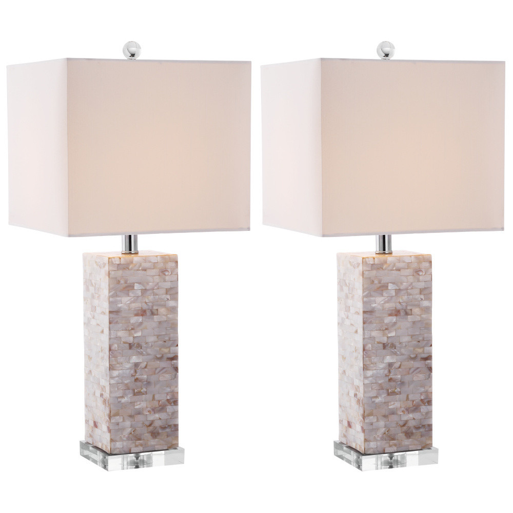 Sada 2 stolových lamp Safavieh Barrow