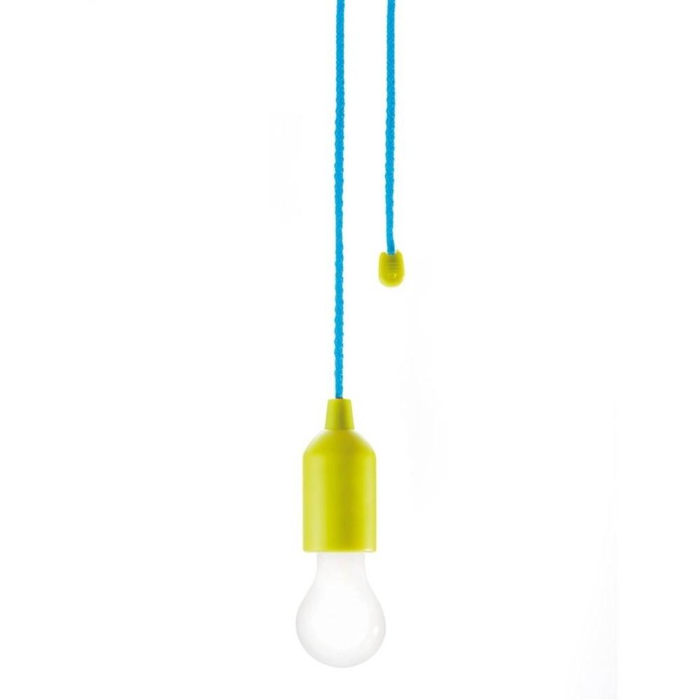 Zelené závesné LED svietidlo XD Design Hang