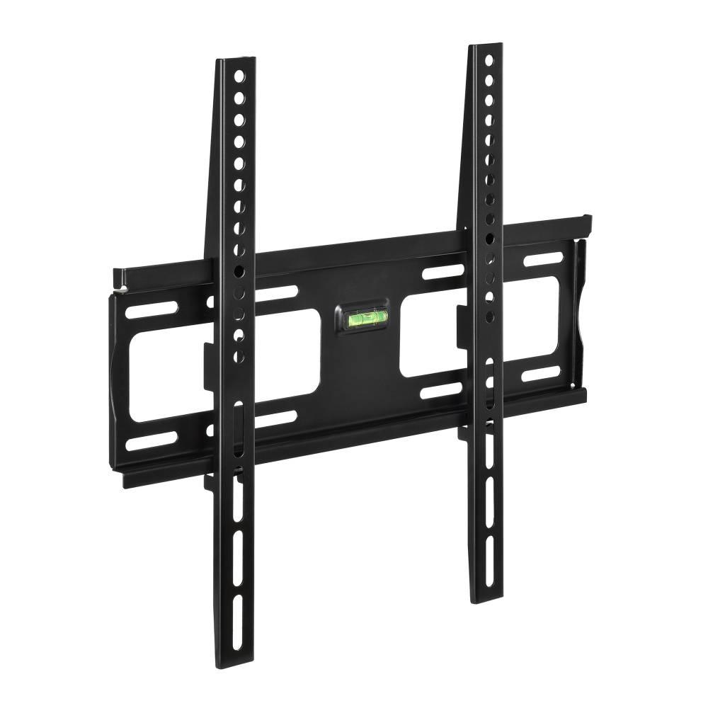 [in.tec]® TV konzola na stenu - čierna - model 2