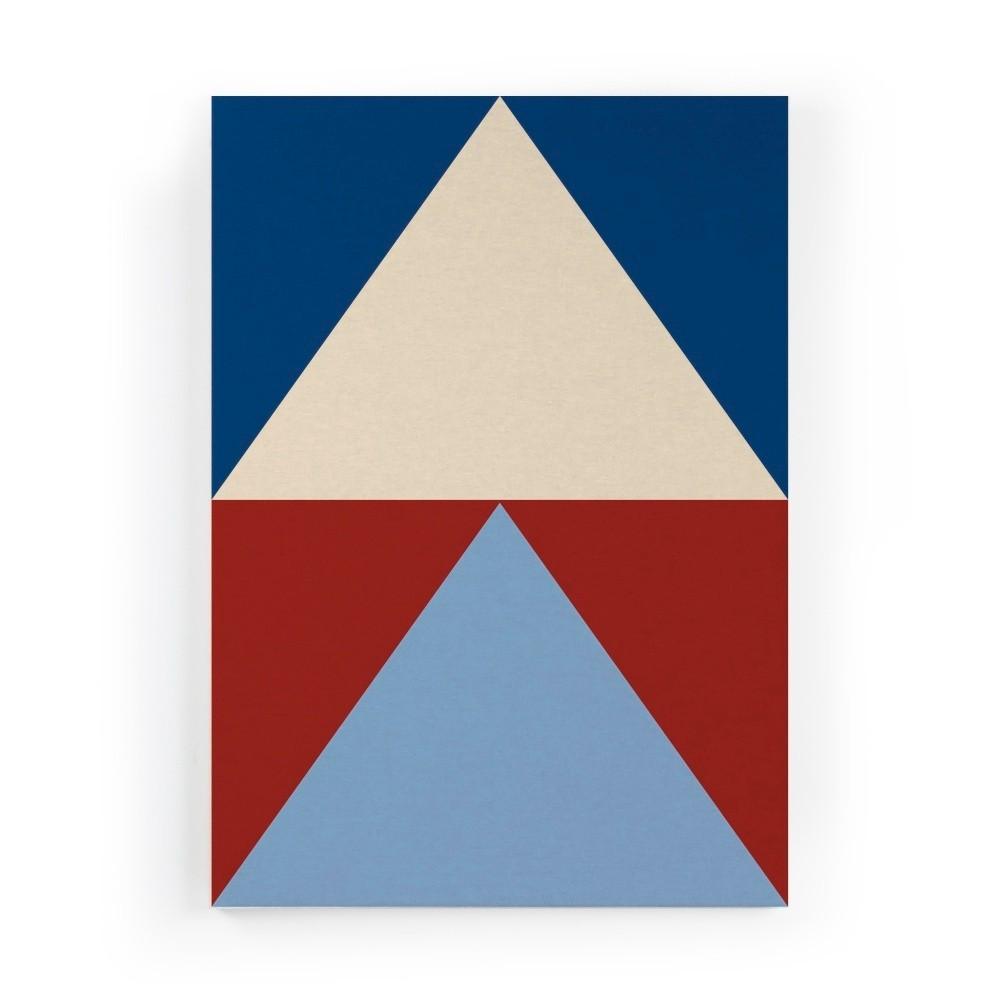 Obraz na plátne Really Nice Things Colorful Triangles, 50×70 cm