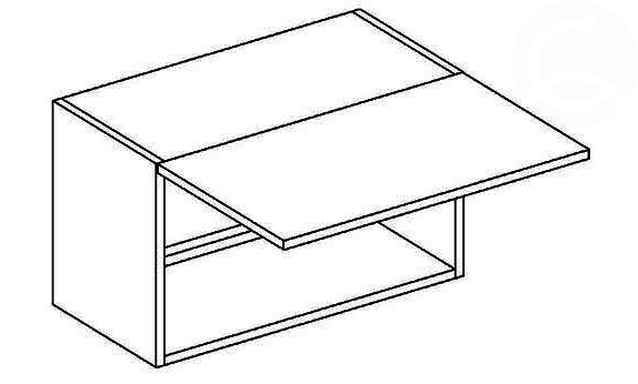 W50OK/30 digestorová skrinka, výška 30 cm, vhodná ku kuchyni FALA