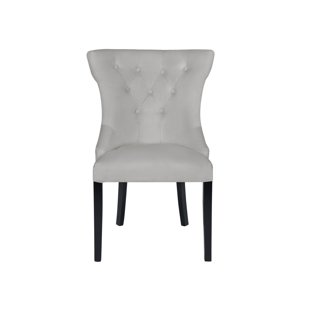 Svetlosivá stolička Micadoni Home Mero