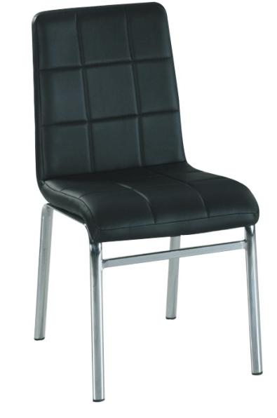 Jedálenská stolička Doroty New čierna