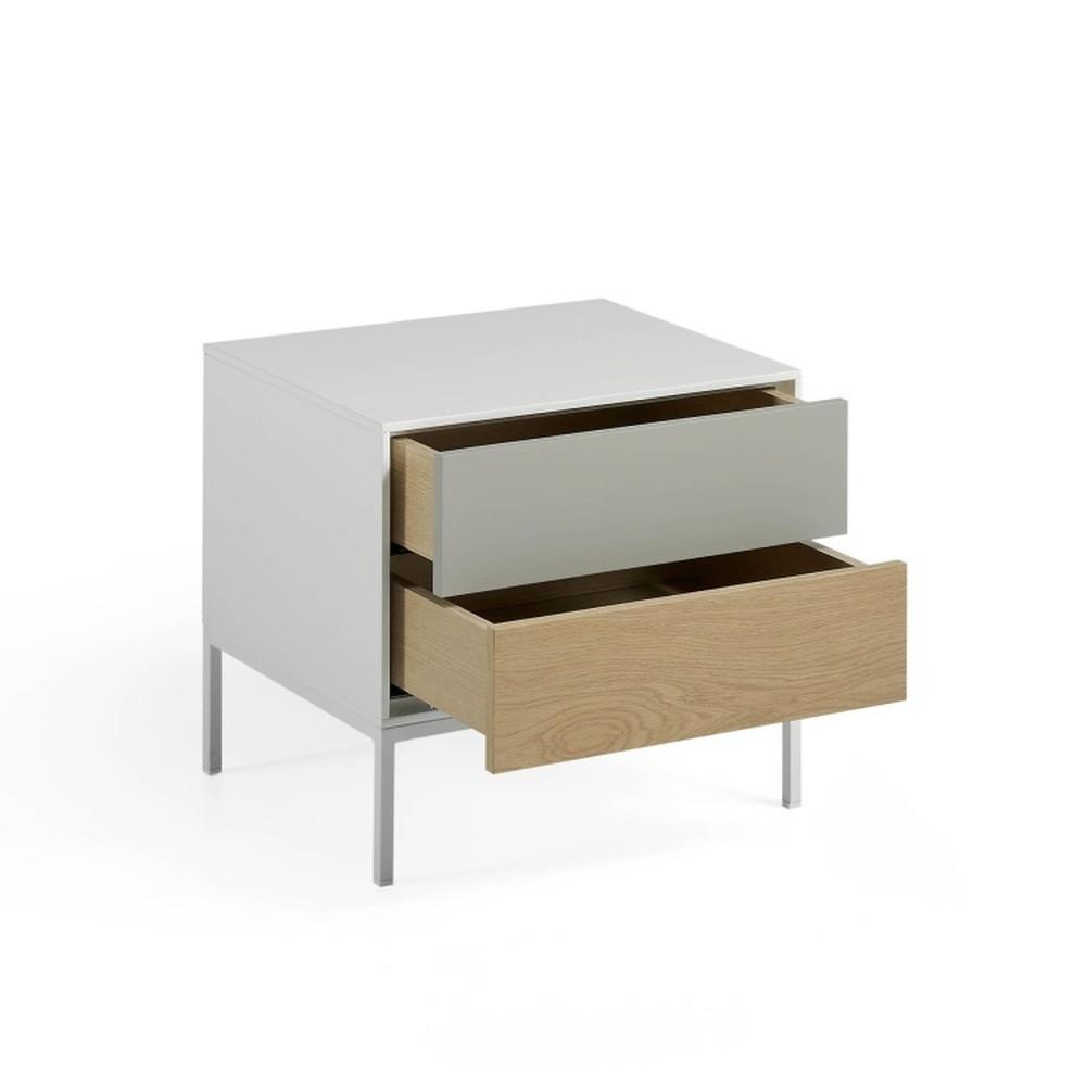 Nočný stolík s 2 zásuvkami Ángel Cerdá Livigno