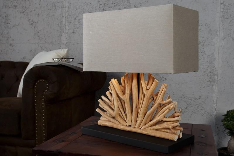 Stolná lampa LUPUS II - béžová