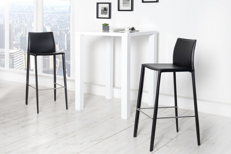 Barová stolička MINOLA - čierna