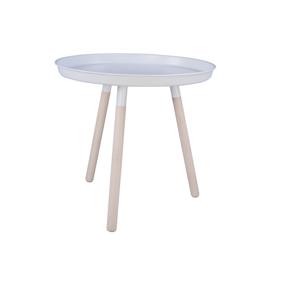 Biely odkladací stolík Nørdifra Sticks Tray