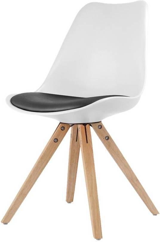 Jídelní židle LADY bílá/ černá
