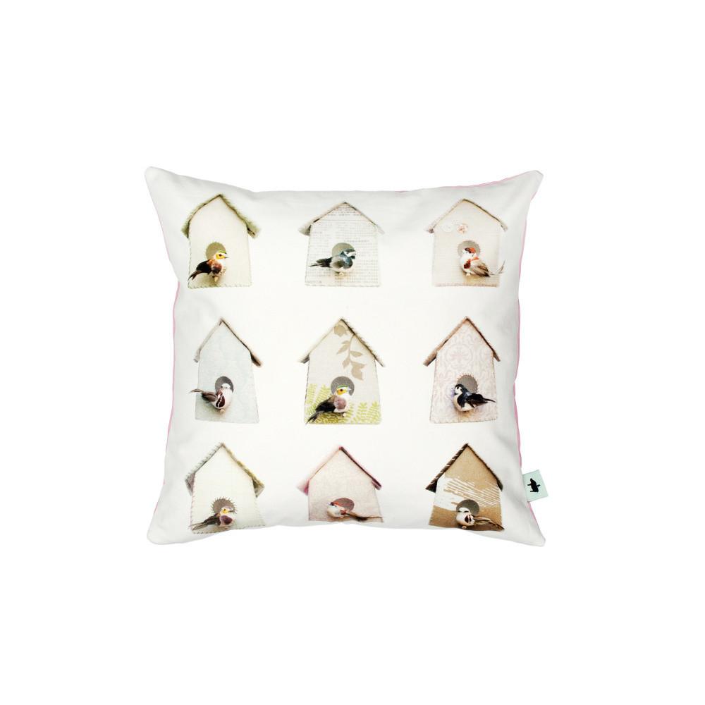 Bavlnená obliečka na vankúš Studio Ditte Birdhouse, 50x50cm