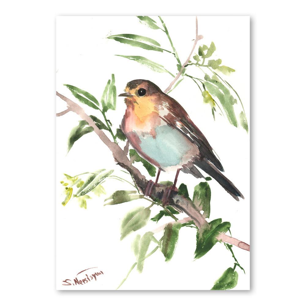 Autorský plagát Bird od Surena Nersisyana,42x30cm