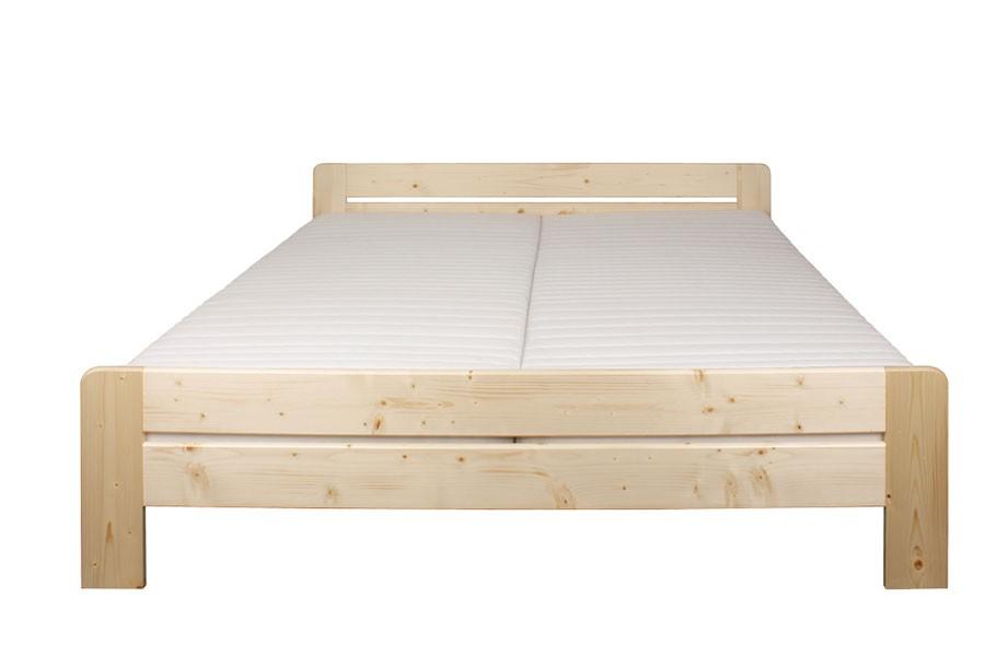 Bradop Manželská posteľ 200 x 200, masív smrek B472