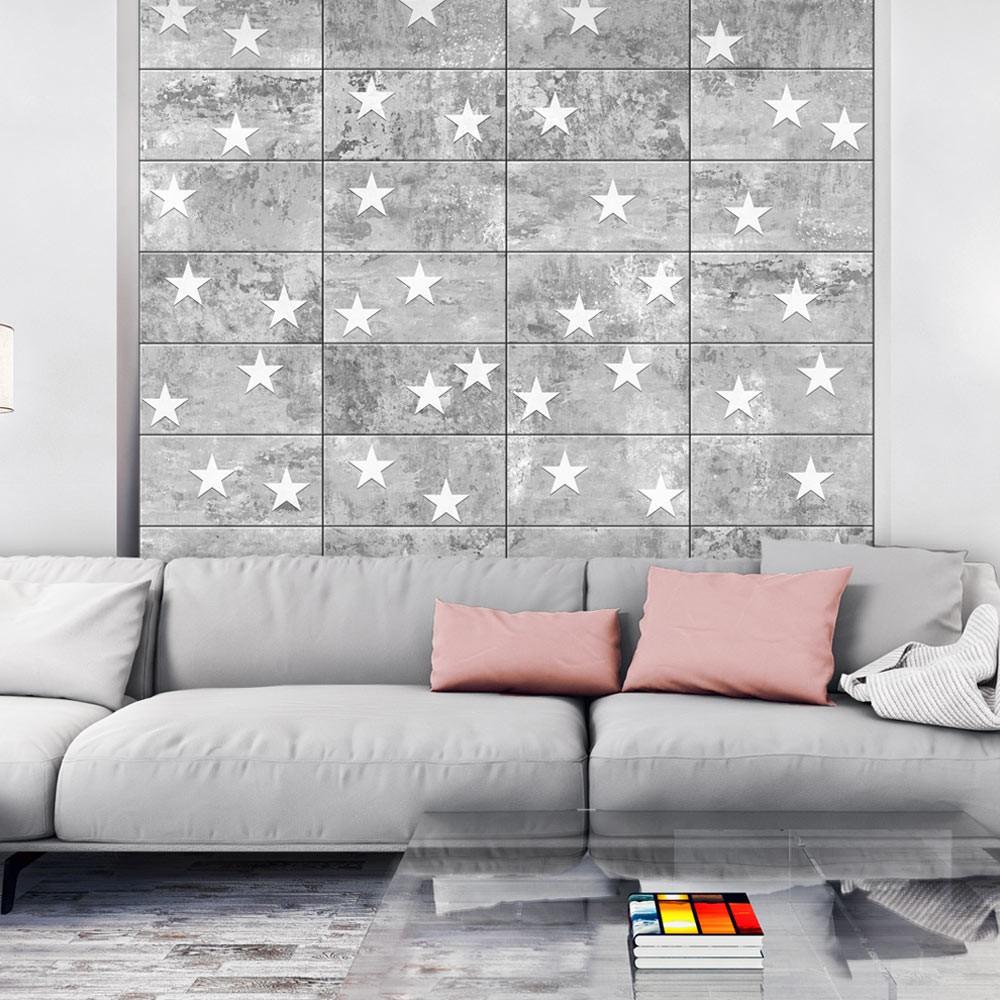 Tapeta v rolke Bimago Stars On Concrete, 0,5 x 10 m