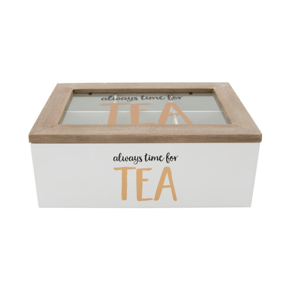 Box na čaje Sass & BelleAlwaysTimeforTea
