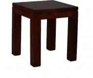 Furniture nábytok  Masívny konferenčný stolík z Palisanderu  Samad  40x40x45 cm