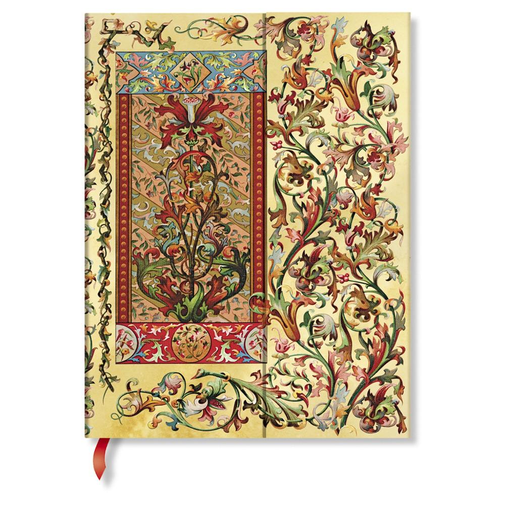 Zápisník s tvrdou väzbou  Paperblanks Tuscan Sun, 18 x 23 cm