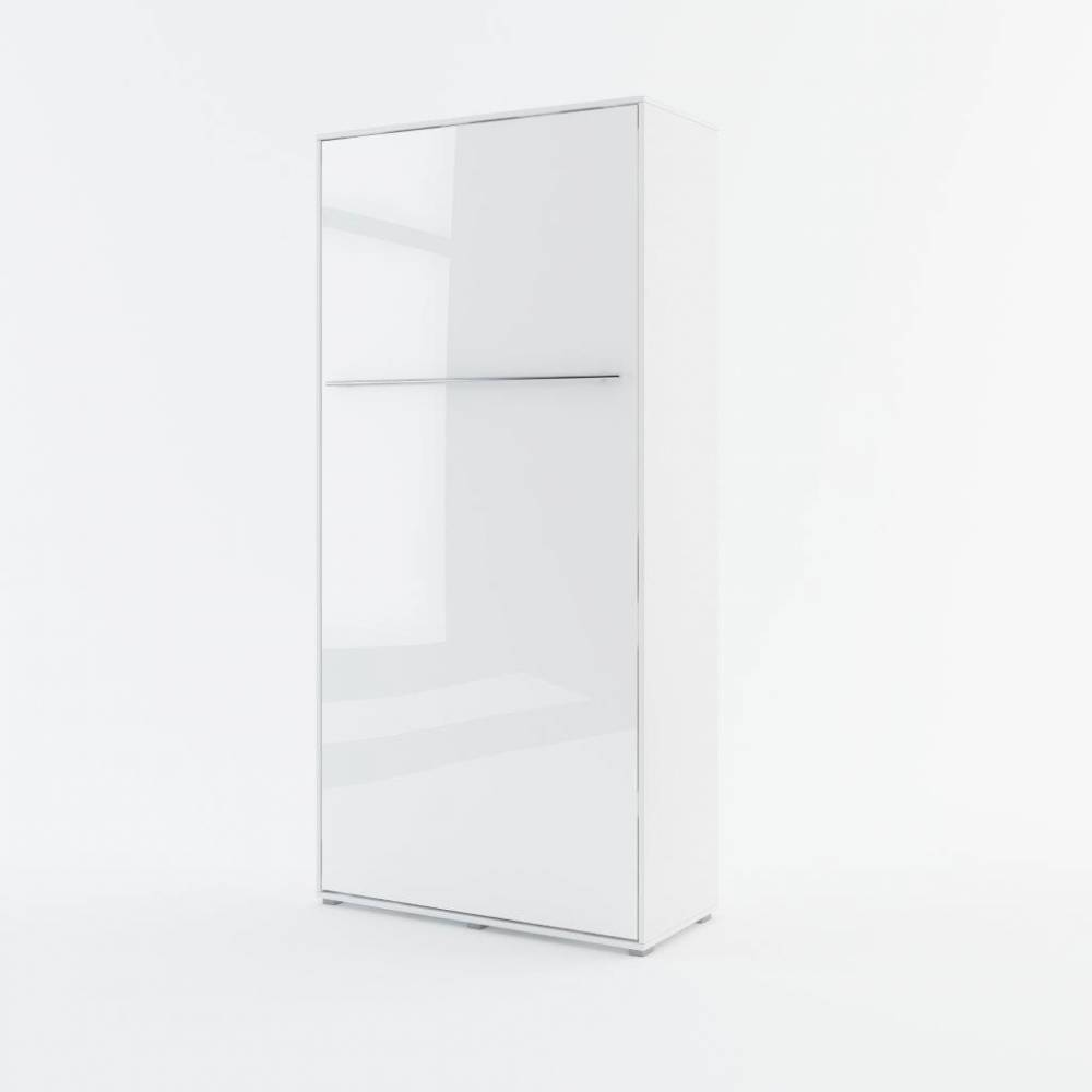 Sklápacia posteľ KOMFORT PRO CP-03, biely lesk