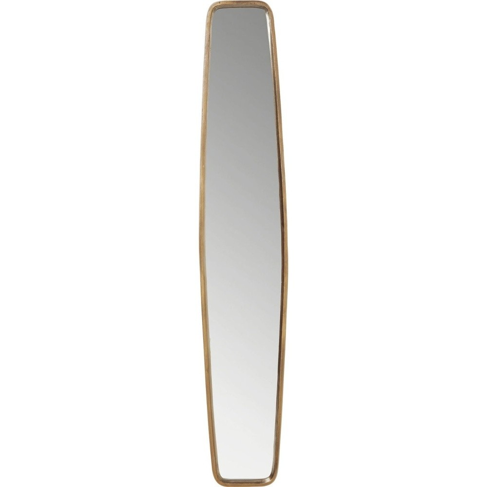 Zrkadlo s rámom v medenej farbe Kare Design Clip
