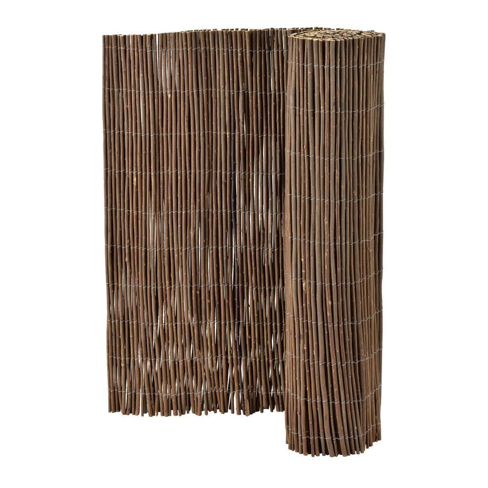 [casa.pro]® Vŕbový plot - clona - 5 x 1m