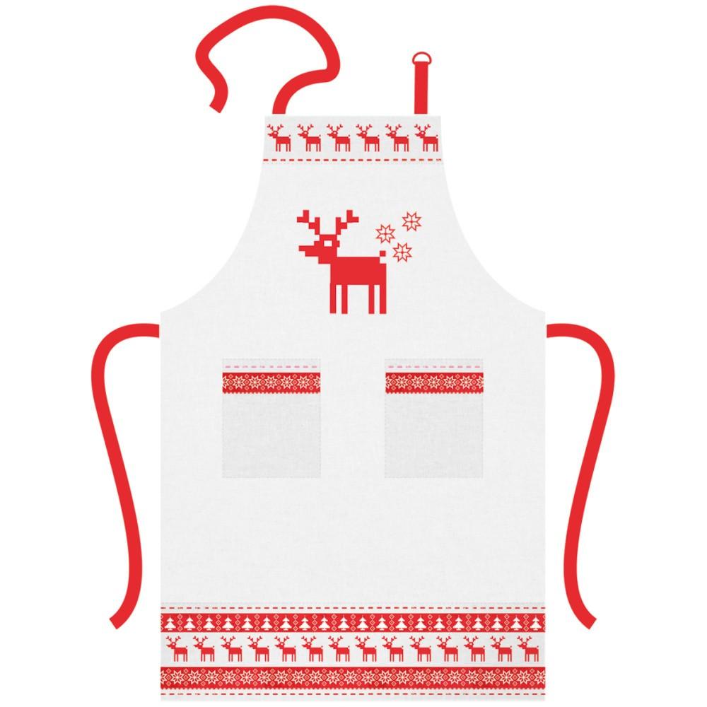 Bavlnená kuchynská zástera s vianočným motívom PPD Magic Christmas