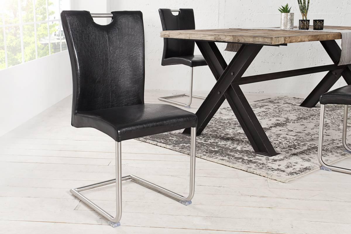 Stolička BOFFALO - čierna