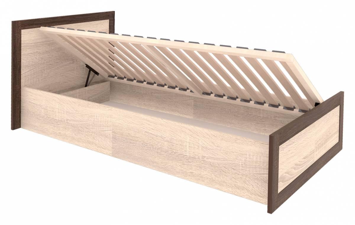Jednolôžková posteľ 90 cm Boss BS19/90