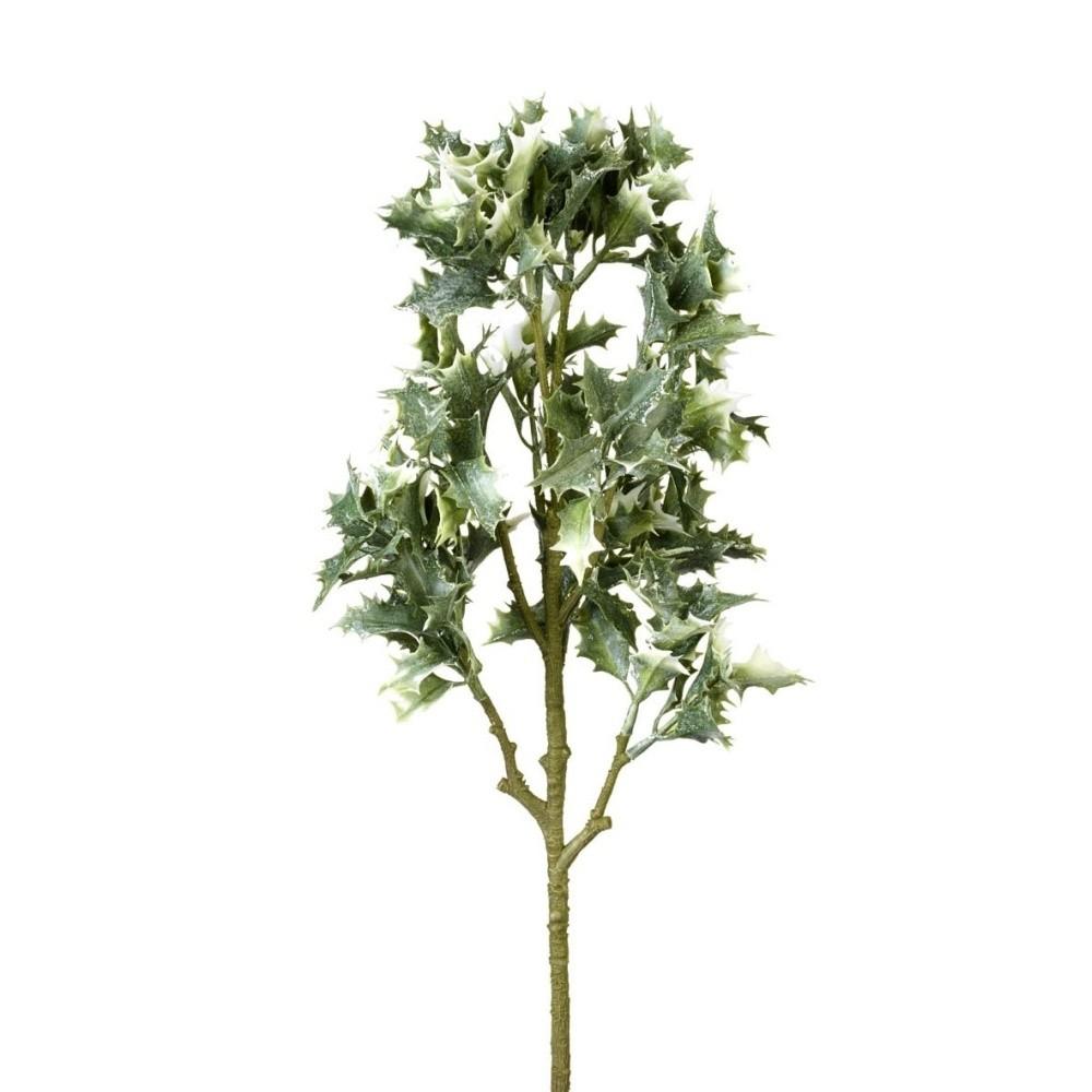 Dekoratívna vetvička Parlane Holly Leaves, dĺžka 60 cm
