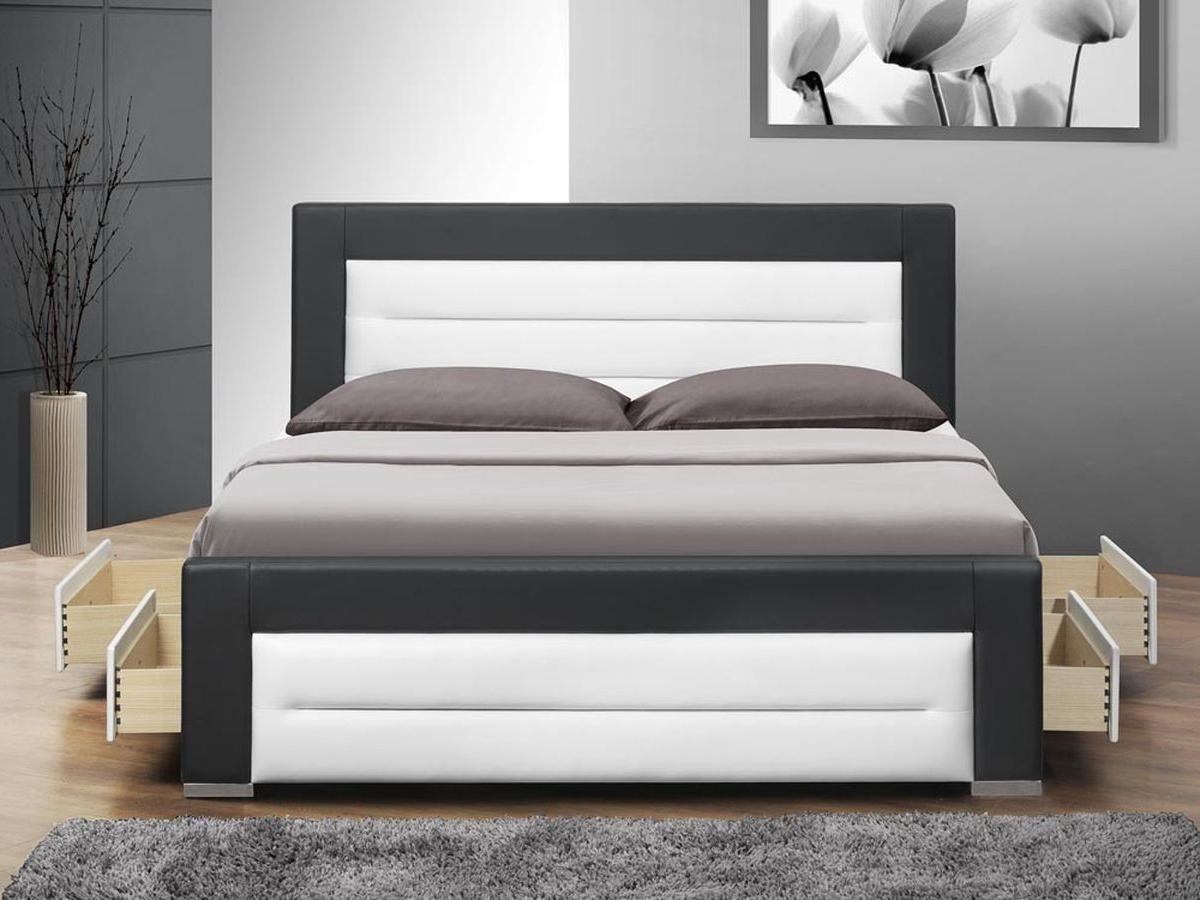 Manželská posteľ 160 cm Nazuka (s roštom) *masážny prístroj ZADARMO
