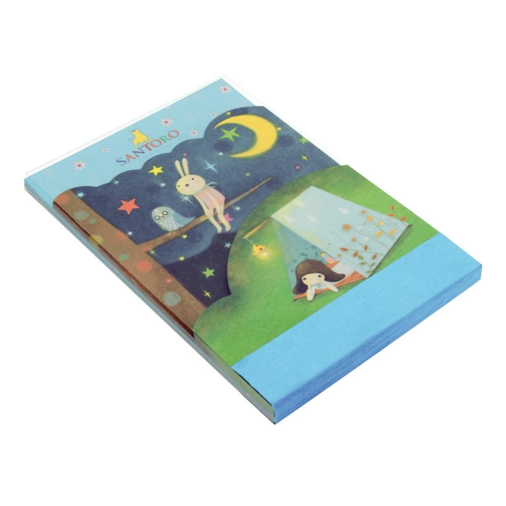 3dielny bloček Santoro London Scottie Dogs Starry Night