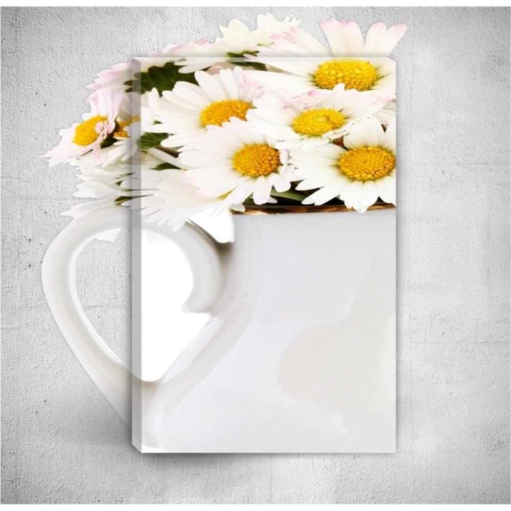 Nástenný 3D obraz Mosticx Daisies, 40×60 cm