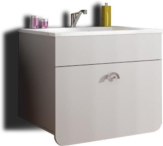 Skrinka pod umývadlo 35RO TR13, biela, DOMINIKA