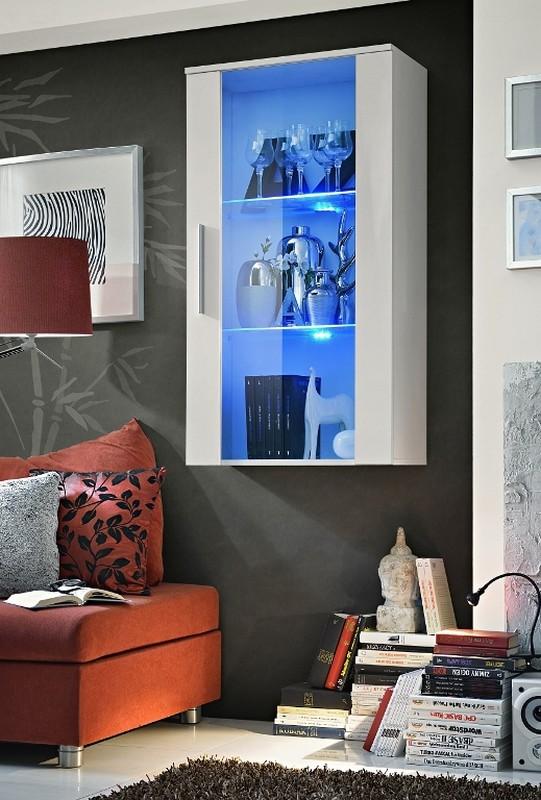 Vitrína na stenu Neo 23 WW N2 (s osvetlením)
