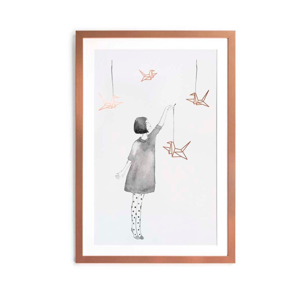 Obraz Little Nice Things Pajaritas, 40 x 60 cm